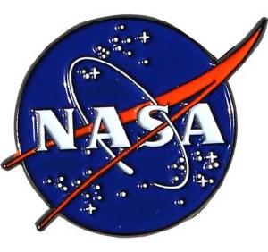 NASA Round Logo Enamel Pin