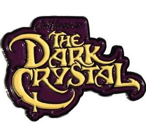 Dark Crystal Logo Enamel Pin