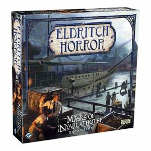 Eldritch Horror Masks of Nyarlathotep Expansion