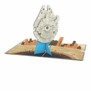 LovePop Star Wars Millenium Falcon Greeting Card