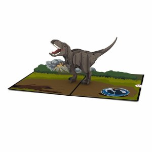 LovePop Jurassic World T-Rex Greeting Card
