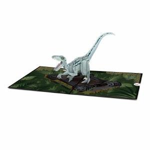 LovePop Jurassic World Raptor Blue Greeting Card
