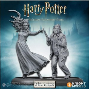 Harry Potter Miniatures Adventure Game Bellatrix and Wormtail Expansion