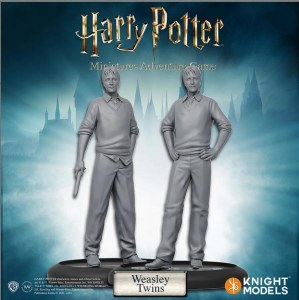 Harry Potter Miniatures Adventure Game Weasley Twins Expansion