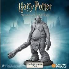 Harry Potter Miniatures Adventure Game Troll Expansion