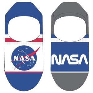 NASA Jumpsuit No Show Liner Socks 2 Pack