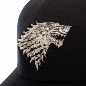 Game of Thrones House Stark Pre-Curved Bill Snapback Hat
