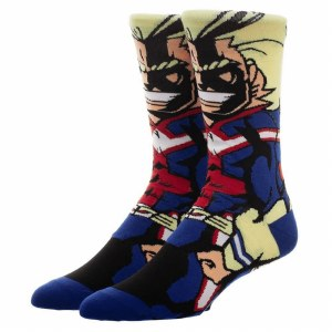 My Hero Academia All Might 360 Crew Socks