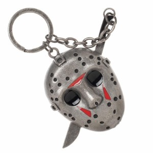 Friday the 13th Jason Voorhees 3-D Keychain with Machete