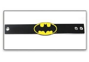 Batman Logo Rubber Wristband