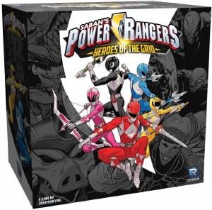 Power Rangers Heroes of the Grid Board Game