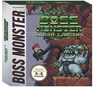 Boss Monster Crashing Landing