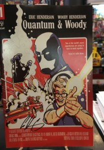 Quantum and Woody (2020) #1 Signing Tour Cover