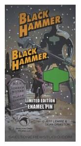 Black Hammer Logo & Emblem Limited Edition Enamel Pin Set