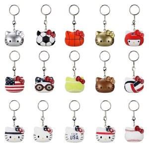 Hello Kitty X Team USA Vinyl Boxed Keychain