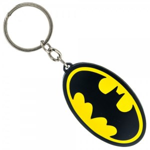 Batman Metal Logo Keychain