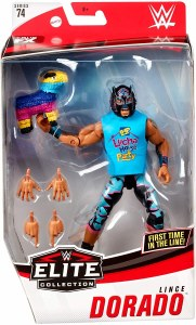 WWE Elite 74 Lince Dorado AF