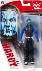 WWE S102 Jeff Hardy Action Figure