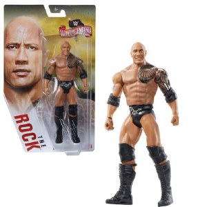 WWE WM20 The Rock Basic Action Figure