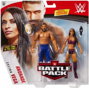 WWE S62 Andrade/Zelina Vega Action Figure 2 Pack