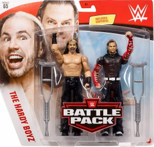 WWE S65 The Hardy Boyz Action Figure 2 Pack