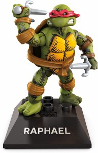 Mega Construx Black S2 Raphael Teenage Mutant Ninja Turtles AF