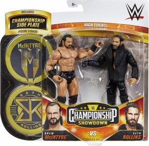 WWE Championship Showdown S4 Drew McIntyre vs Seth Rollins Action Figure 2 Pack