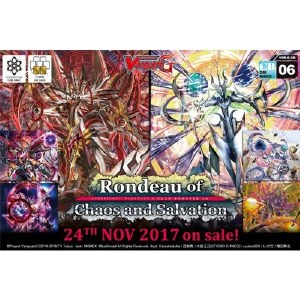 Cardfight Vanguard Rondeau of Chaos and Salvation Booster Pack