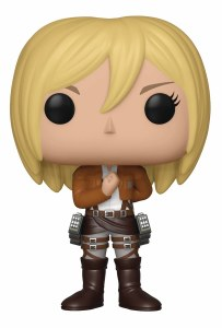 POP Animation Attack on Titan Christa Vinyl Figure