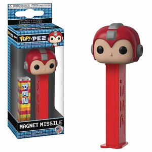 POP PEZ MegaMan Magnet Missile Dispenser