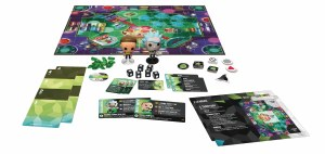 POP Funkoverse Rick and Morty 2 Player Strategy Game w/ Rick/Morty Vinyl Figures