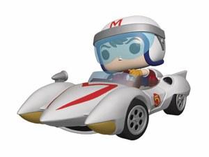 POP Animation Speed Racer Rides Speed Racer w/ Mach 5 Vinyl Figure Set