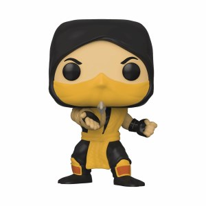 POP Games Mortal Kombat Scorpion Vinyl Figure