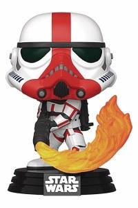 POP Star Wars Mandalorian Incinerator Stormtrooper Vinyl Figure