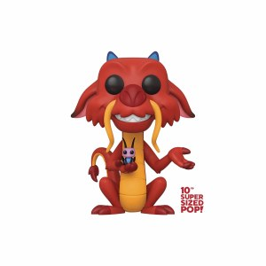 POP Disney Mulan Mushu 10-Inch Vinyl Figure