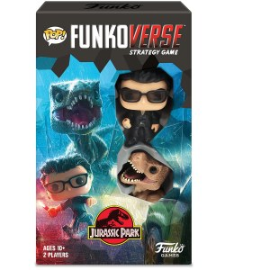 POP Funkoverse Jurassic Park 2-Player Strategy Game