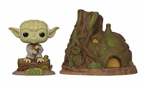 POP Star Wars Empire Strikes Back 40th Dagobah Yoda w/ Hut Vinyl Figure Set