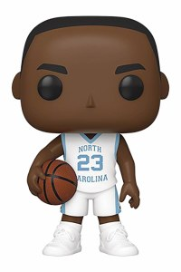 POP NBA University of North Carolina Michael Jordan Away Jersey Vinyl Figure