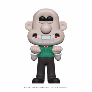 POP Animation Wallace and Gromit Wallace Vinyl Figure