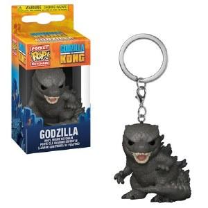 Pocket POP Godzilla vs Kong Godzilla Vinyl Keychain