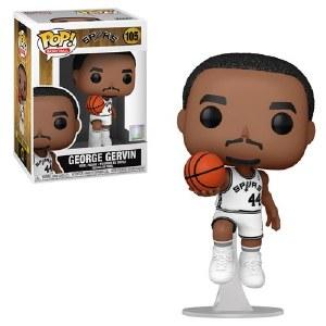 POP NBA San Antonio Spurs George Gervin Home Outfit Vinyl Figure