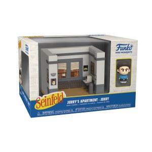 Seinfeld Mini Moments Jerry w/ Diorama Set
