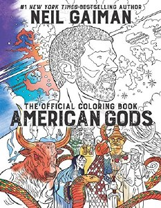 American Gods Official Coloring Boook