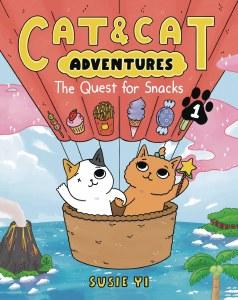 Cat & Cat Adventures HC Vol 01 Quest For Snacks