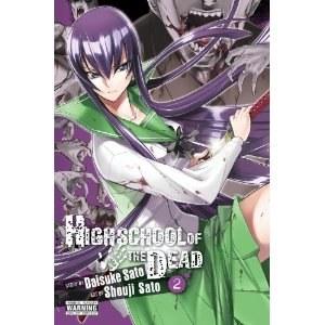 High School Of The Dead Vol 02