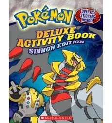 Pokemon Deluxe Activity Book Sinnoh Edition