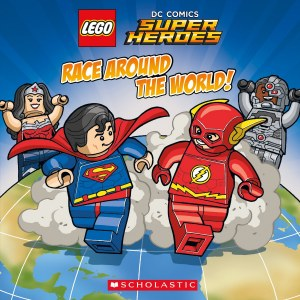DC Comics Super Heroes Race Around the World