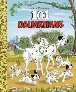 101 Dalmatians Little Golden Board Book