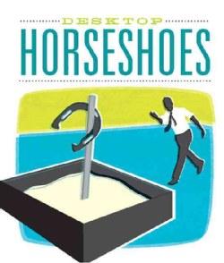 Desktop Horseshoes Mini Set