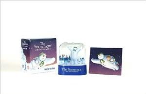 Snowman and the Snowdog Snow Globe